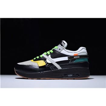 6fec2c750dd BespokeIND x Off-White x Nike Air Max 1 in Black Men s Size For Sale