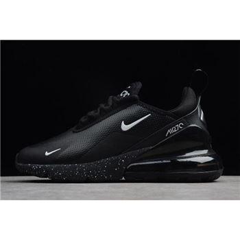 fb8528e62e Deals x NIKEiD Custom Air Max 270 Premium Black Men's Shoes BQ0742 ...