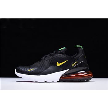 more photos bf47a 0d15c Nike Air Max 270 FIFA World Cup Brazil Black Green Yellow AH8050-112