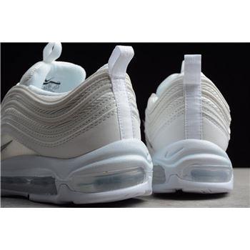 Men S And Women S Nike Air Max 97 Triple White White Wolf Grey