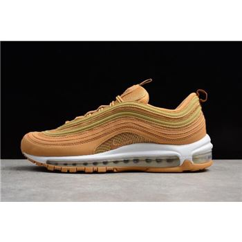 2018 Off White x Nike Air Max 97 WhiteGreen Men's and
