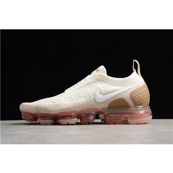 49f0132c03 2018 Nike Air VaporMax Moc 2 Sail/Anthracite/Sand/Wheat Green AH7006-