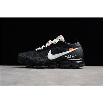 074cb6ed5780 2018 Virgil Abloh s Nike Air Vapormax FK OFF-WHITE Black White-Clear AA3831