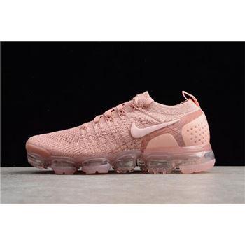 c171f0dc6 WMNS Nike Air VaporMax Flyknit 2.0 Pust Pink/Storm Pink-Pink Tint 942843-