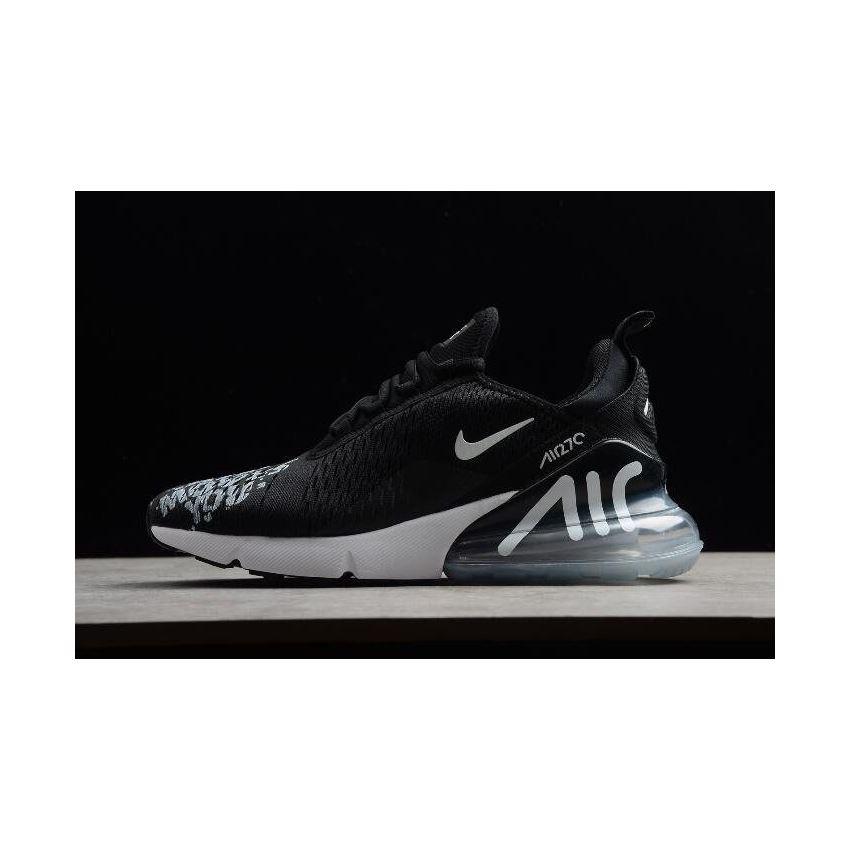 new concept dc001 e87f9 Deals x NIKEiD Custom Air Max 270 Premium Black Men s Shoes BQ0742-991