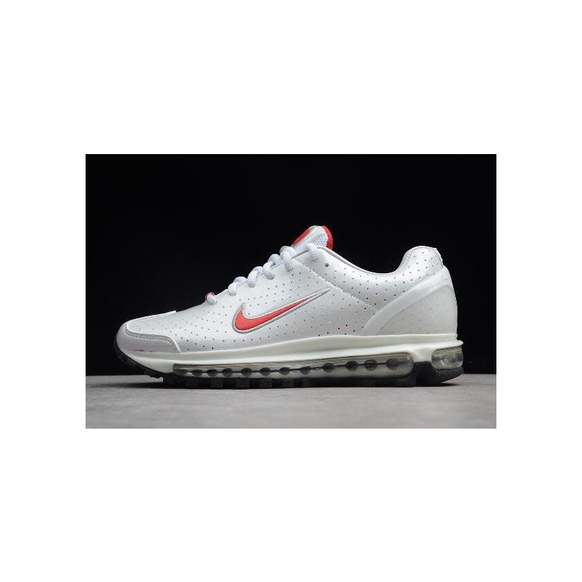 Womens Nike Air Max 2003 SS Milky WhiteRed 306582 800 Copuon