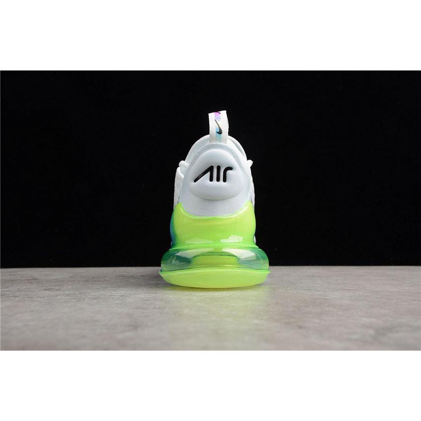 buy popular ff0c4 8ca80 Nike Air Max 270 SE White Explosion Green-Yellow AQ9164-100