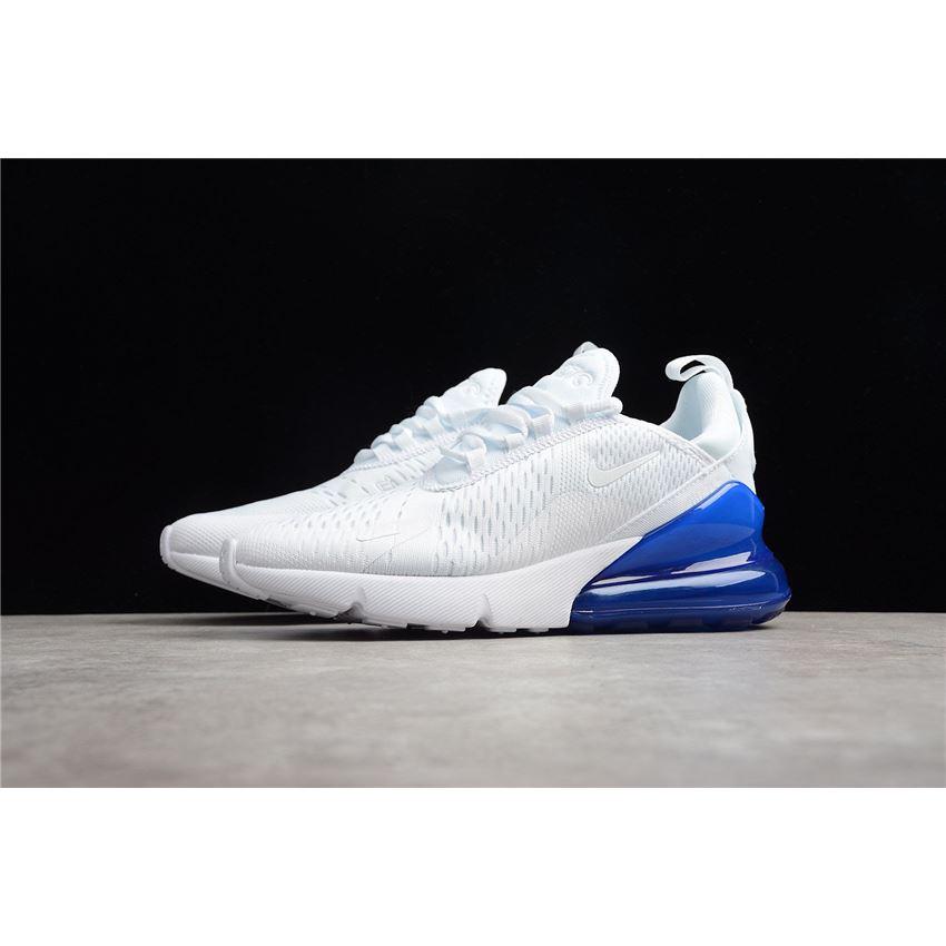 Mens and WMNS Nike Air Max 270 WhitePhoto Blue AH8050 105