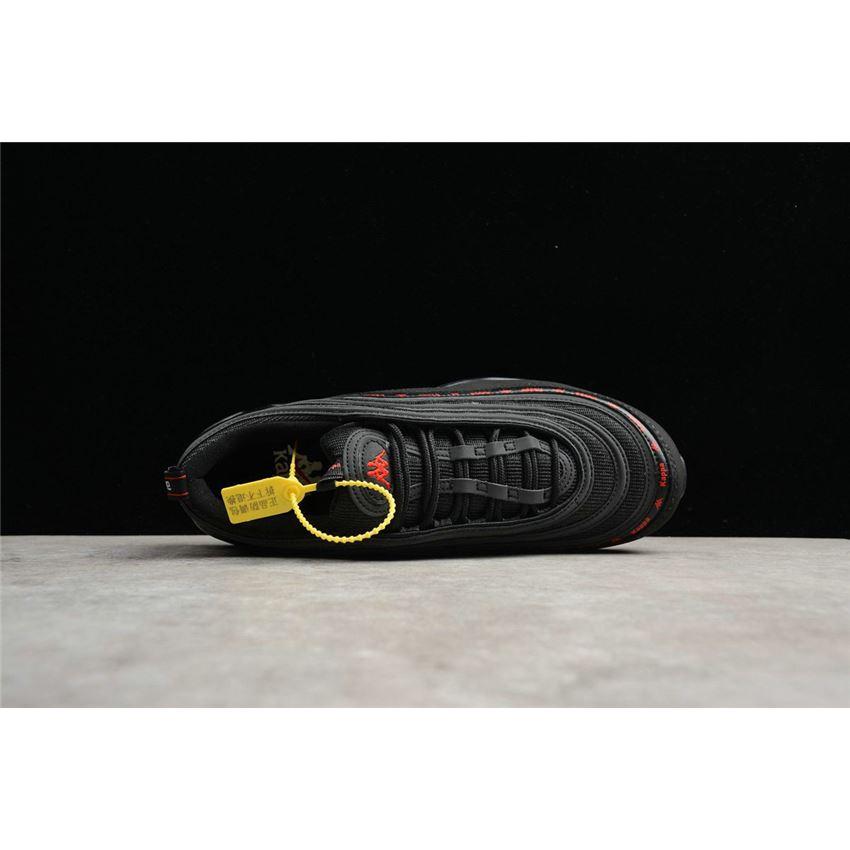 Custom Kappa x Nike Air Max 97 Black White AJ1986 101