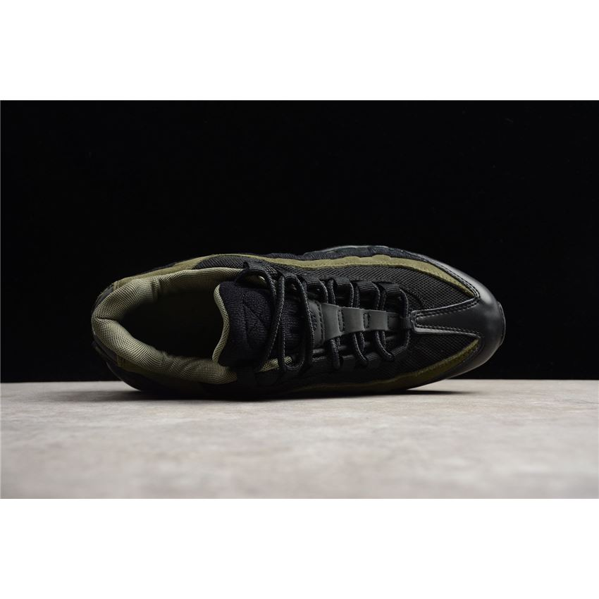 new product 45e20 6a184 Nike Air Max 95 HAL Black/Black-Cargo Khaki-Flat Silver Men's Shoe  AH8444-001