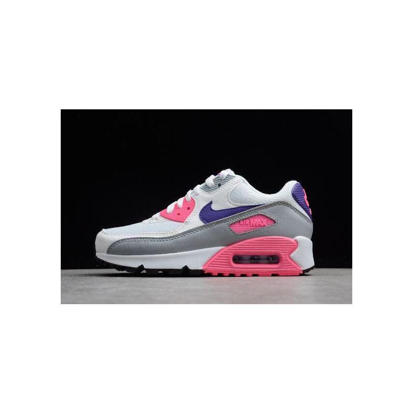 WMNS Nike Max 90 Essential Laser Pink WhiteCourt Purple