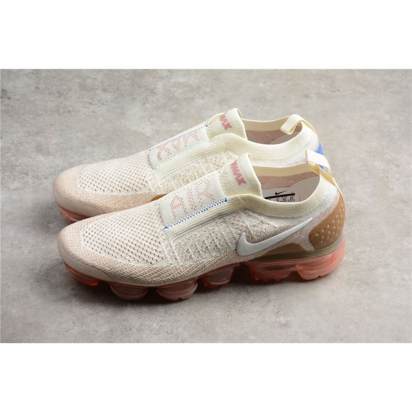 7b91532ecf11f 2018 Nike Air VaporMax Moc 2 Sail Anthracite Sand Wheat Green AH7006 ...