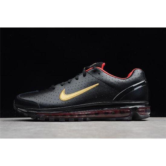 48581cf8f7b Nike Air Max 2003 SS Black Red-Metallic Gold 311038-071