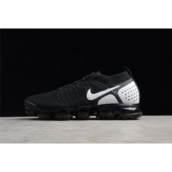 d1364a50041d6 Nike Air VaporMax Flyknit 2018 2.0 Black White Men s and Women s Size 842842 -010
