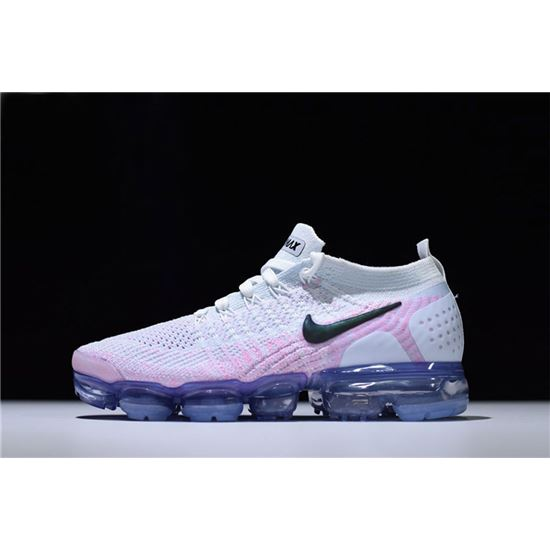 huge discount 8dd52 b16bf Nike WMNS Air VaporMax Flyknit 2.0 White Hydrogen Blue-Pink 942843-102, New Air  Max 2019, Air Max 720